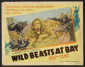 """Movie Posters:Documentary, Wild Beasts at Bay (Cosmopolitan, 1947). Lobby Card Set of 8 (11"""" X 14""""). Documentary.. ... (Total: 8 Items)"""
