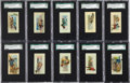 "Non-Sport Cards:Sets, 1888 N86 Duke ""Scenes of Perilous Occupations"" Complete Set (50) -#2 on the SGC Set Registry!..."