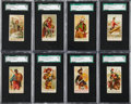 "Non-Sport Cards:Sets, 1887 N3 ""Arms of All Nations"" Near Set (48/50) - #2 on the SGC SetRegistry!..."