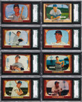 Baseball Cards:Sets, 1955 Bowman Baseball Near Set (318/320)....