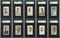 Baseball Cards:Lots, 1910-11 M116 Sporting Life High End SGC-Graded Group of (20). ...