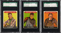 Boxing Cards:General, 1933 Sport Kings SGC-Graded Trio (3) - With Gene Tunney. ...
