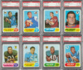 Football Cards:Sets, 1968 Topps Football High Grade Complete Set (219)....