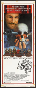 "Movie Posters:Horror, Theatre of Blood (United Artists, 1973). Insert (14"" X 36""). Horror.. ..."