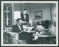 """Movie Posters:Hitchcock, Dial M For Murder (Warner Brothers, 1954). Stills (2) (8"""" X 10"""").Hitchcock.. ... (Total: 2 Items)"""
