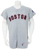 Baseball Collectibles:Uniforms, 1969 Tony Conigliaro Game Worn Jersey....