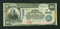 National Bank Notes:Oklahoma, Valliant, OK - $10 1902 Date Back Fr. 619 The First NB Ch. # (W)9992. ...