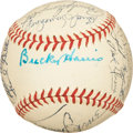 Autographs:Baseballs, 1948 New York Yankees Team Signed Baseball. ...