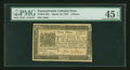 Colonial Notes:Pennsylvania, Pennsylvania March 16, 1785 3d PMG Choice Extremely Fine 45 EPQ....