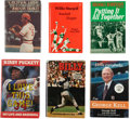 Autographs:Others, Baseball Hall of Famers Signed Books Lot of 6. ...