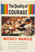 Autographs:Others, Mickey Mantle Signed Book. ...