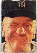 Autographs:Others, Casey Stengel Signed Book. ...