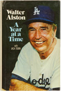 Autographs:Others, Walt Alston Signed Book. ...