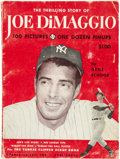 Autographs:Others, Joe DiMaggio Signed Book. ...