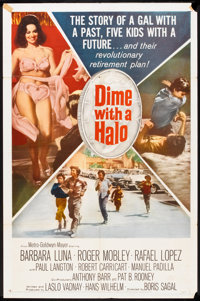 "Dime With a Halo (MGM, 1963). One Sheet (27"" X 41"") and Stills (11) (8"" X 10.25""). Comedy. ... (Tota..."