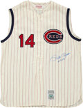 Autographs:Jerseys, Pete Rose Signed Jersey. ...