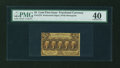 Fractional Currency:First Issue, Fr. 1279 25c First Issue PMG Extremely Fine 40....
