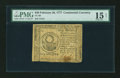 Colonial Notes:Continental Congress Issues, Continental Currency February 26, 1777 $30 PMG Choice Fine 15Net....