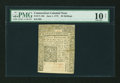 Colonial Notes:Connecticut, Connecticut June 1, 1775 20s Uncancelled PMG Very Good 10 Net....