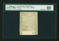 Colonial Notes:Connecticut, Connecticut July 1, 1780 5s Cut Cancelled PMG Extremely Fine 40....