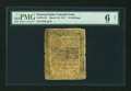 Colonial Notes:Pennsylvania, Pennsylvania March 10, 1757 15s PMG Good 6 Net....