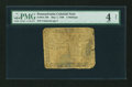 Colonial Notes:Pennsylvania, Pennsylvania May 1, 1760 5s PMG Good 4 Net....