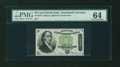 Fractional Currency:Fourth Issue, Fr. 1379 50c Fourth Issue Dexter PMG Choice Uncirculated 64....