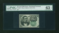 Fractional Currency:Fifth Issue, Fr. 1264 10c Fifth Issue PMG Choice Uncirculated 63 EPQ....
