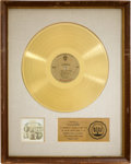 Music Memorabilia:Awards, The Association Insight Out RIAA Gold Album Award...