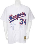 Autographs:Jerseys, Nolan Ryan Signed Jersey. ...