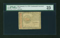 Colonial Notes:Continental Congress Issues, Continental Currency January 14, 1779 $45 PMG Very Fine 25....