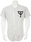 Baseball Collectibles:Uniforms, 1976 Yogi Berra Game Worn Jersey....