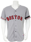 Baseball Collectibles:Uniforms, 1990 Wade Boggs Game Worn Jersey....