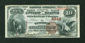 National Bank Notes:Pennsylvania, Windber, PA - $10 1882 Brown Back Fr. 490 The Windber NB Ch. #5242. ...