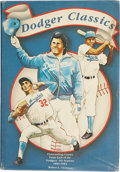 Autographs:Others, Brooklyn and Los Angeles Dodgers Signed Book....