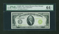 Small Size:Federal Reserve Notes, Fr. 2221-G $5000 1934 Federal Reserve Note. PMG Choice Uncirculated 64 EPQ.. ...
