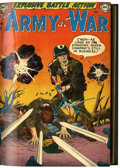 Silver Age (1956-1969):War, Our Army at War #1-9 Bound Volume (DC, 1952-53)....