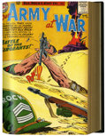 Silver Age (1956-1969):War, Our Army at War #114-149 Bound Volumes (DC, 1962-64)....