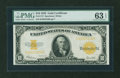 Large Size:Gold Certificates, Fr. 1173 $10 1922 Gold Certificate PMG Choice Uncirculated 63 EPQ....