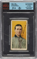 Autographs:Sports Cards, 1909-11 Frank Chance Signed T206 Tobacco Card....