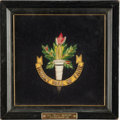 Hockey Collectibles:Others, 1962 Billy Gilmour Hockey Hall of Fame Crest....