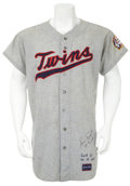 Baseball Collectibles:Uniforms, 1970 Luis Tiant Game Worn Jersey....