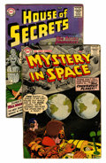 Silver Age (1956-1969):Mystery, House of Secrets #3 and Mystery in Space #35 Group (DC, 1956-57).... (Total: 2 Comic Books)
