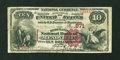 National Bank Notes:Pennsylvania, Meadville, PA - $10 1882 Brown Back Fr. 480 The Merchants NB Ch. #871. ...