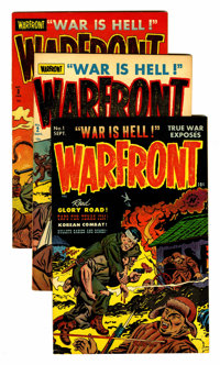 Warfront File Copies Group (Harvey, 1951-66) Condition: Average VF+.... (Total: 33 Comic Books)