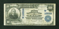 National Bank Notes:Colorado, Craig, CO - $10 1902 Plain Back Fr. 631 The First NB Ch. #(W)10558. ...
