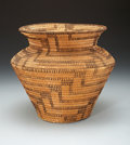 American Indian Art:Baskets, A PAPAGO BUNDLE-COILED BASKET . c. 1930...
