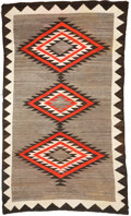 American Indian Art:Weavings, A NAVAJO REGIONAL RUG . c. 1920...