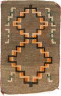American Indian Art:Weavings, TWO NAVAJO REGIONAL RUGS . c. 1930 and 1950... (Total: 2 Items)