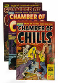 Golden Age (1938-1955):Horror, Chamber of Chills Group (Harvey, 1952-54) Condition: Average GD....(Total: 14 Comic Books)